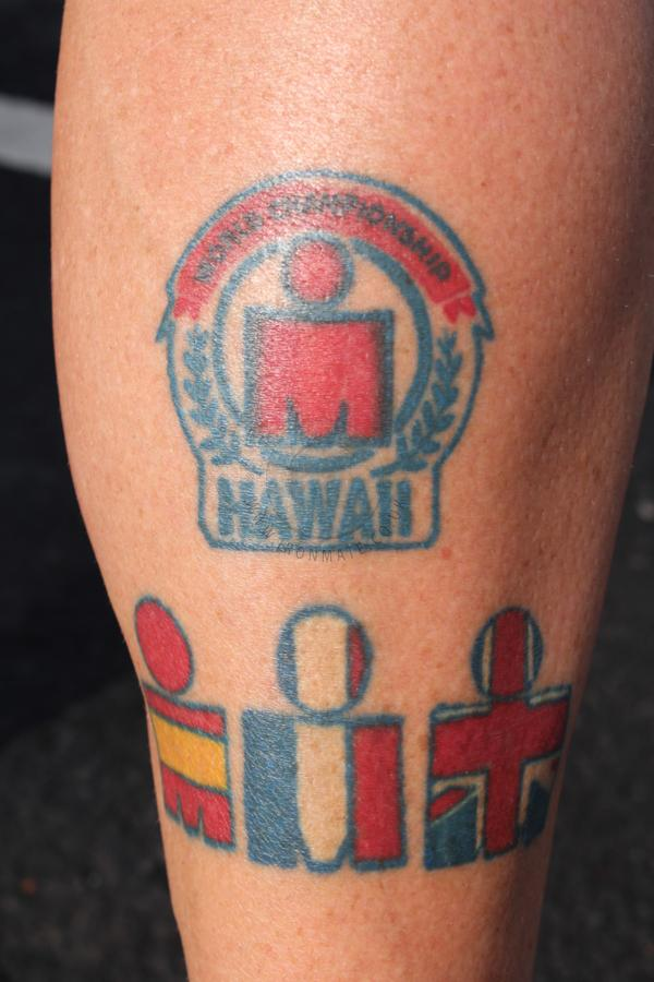 Ironman Country Tattoo