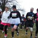 Warming up for Major series 5 km March 2014