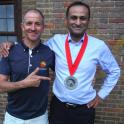 Riz had never even run a 10 km running race with Mark Kelanthous help I helped him successully complete the 4Desert running event involving 250km 6 day ultra running event in China.