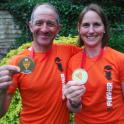 Mark trained and gave advice to Abi Gooch top 200 finsiher and 12th female to finish the marathon des sables #mds
