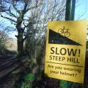 Slow Steep down hill