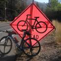 Bike ahead or Bike at rest ?