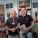 He said he will be using The Complete Book of Triathlon Training & Triathlon to prepare for Ironman Wales