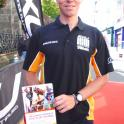 "Oliver Simon winner of the Long Course Triathlon Weekend in Tenby has a copy of ""The Complete Book of Triathlon Training"" by Mark Kleanthous #LCW #LongCourseWeekend"