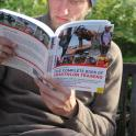Claude reads my book to have a serious attempt at all triathlon distances