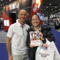 The Complete Book of Triathlon Training - Book signing at the London Triathlon Show 2015 by Mark Kleanthous