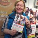 She is training for Ironman UK Bolton & using The Complete Book of Triathlon Training by Mark Kleanthous