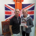 "Anna Murawska is using my book ""The Complete Book of Triathlon Training"" to train for a Double Ironman Triathlon"