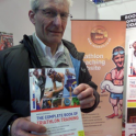 He came all the way from Yorkshire to listen to my #Ironman talk & Ask me questions @Triathlon_Show & buy The Complete Book of Triathlon Training