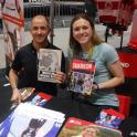 Vicky Holland Olympic bronze medalist Triathlon Rio 2016 has my Tri Book The Complete Book of Triathlon Training by mark kleanthous