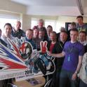 IronMate Photo - Brad Smith Hospitality Box After Silverstone 2010