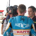 IronMate Photo - Bradley Smith Being Interviewed By Bbc Sport