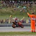 IronMate Photo - Casey Stoner Celebrates With His Win At Bruno