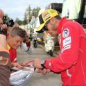 IronMate Photo - Valentino Signs Autogrpahs At Brno 2011