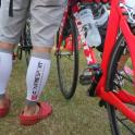 IronMate Photo - Compressport Ready And Waiting To Race Cow Man