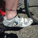 IronMate Photo - Ironmad Rob Barnes Tattoo On Cervelo Bike