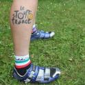 Le Tour De France Leg Tattoo Oakley Cycle