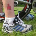 IronMate Photo - M-Dot Ironman Tattoo And All The Gear