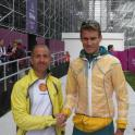 IronMate Photo - Brad Kahlefeldt At The Olympic Triathlon London