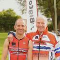 IronMate Photo - Mark Helped Jim Mckellar (74) Finish His 1St Tri