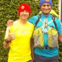 Riz had never ever competed in a running event. With IronMate Mark coaching I helped him successfully complete the 4Desert Gobi Marhc 250km running event