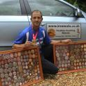 IronMate Mark with some of his medals