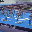 IronMate Photo - Close Up Racing At The Olympic London Triathlon