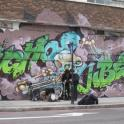 IronMate Photo - Colourful London Graffetti Seen Shoreditch