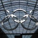 IronMate Photo - London Olympic Rings At St Pancras London 2012