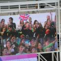 IronMate Photo - Waving The Union Jack In The Aquatic Centre