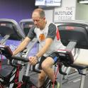 Mark in training at the Altitude Centre. Contact me about Altitude advice