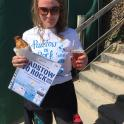 Suzy Smith successfully completed the Padstow to Rock 1 mile open water swim with the help from mark kleanthous & ironmatecoaching
