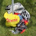 #13 IronMate Photo - Use A Bright Coloured Bag To Help You Re Rack Bike