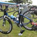 IronMate Photo - Blue Triathlon Aero Bike Thats Very Fast