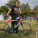 IronMate Photo - Claires Bike At Nat Middle Tri Champs