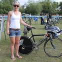 IronMate Photo - Emma Pooleys Bike At Nat Middle Distance Triathlon