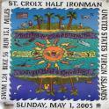 Ironman 70.3 half iron man Triathlon poster 2005