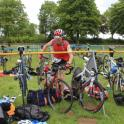 IronMate Photo - Big Cow Event - T2 Racking Bike In Transition Area