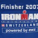 IronMate Photo - 2007 Ironman Switzerland Finsihers T Shirt Close