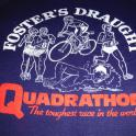 Quadrathlon The Toughest race in the world in 1983 - Swim 2 miles Race Walk 50km Cycle 100 miles Run marathon 26.2 miles - I finished 5th overall in 17 hours