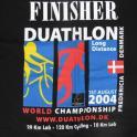IronMate Photo - World Duathlon Championships T Shirt 2004