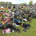 IronMate Photo - What The Transition Area Looks Like After Swim